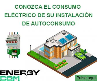 Conozca el consumo eléctrico de su instalación de autoconsumo