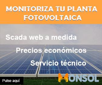 Monitorización fotovoltaica: Scada web a medida, Servicio técnico y precios económicos
